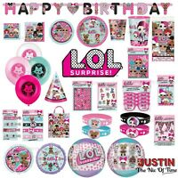 LOL Suprise Birthday Party Supplies Girls Childrens Hanging Decorations