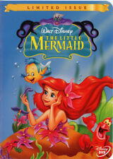 LITTLE MERMAID - 1989 DVD LIMITED ISSUE ANIMATED FILM