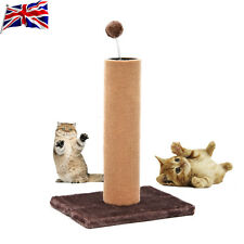 UK Cat Scratching Pole Kitten Scratch Post Spring Toys for Pet Cats
