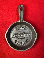 Chevrolet Tommy Thomas Cast Iron skillet Ashtray