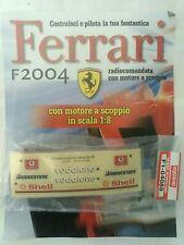 Ferrari Formula 1 F2004 De Agostini Kyosho a Scoppio Ricambio N°88 04088 Nuovo