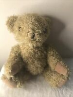 Vintage RENAULT Teddy Bear Soft Plush Toy Jointed Arms Promotional Merchandise
