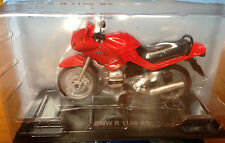 Motocicletta Old Moto 1:24 Collezione BMW R 1100 RS Red Diecast Hachette New