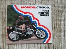 1978 Honda CX-500 Brochure