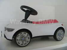 Genuine BMW White Raspberry Pink Baby Racer Child Ride On Product 80932413784