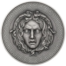 ::RARE:: MEDUSA Diamonds 3 Oz Silver Coin 3000 Francs Cameroon 2019