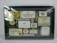 Letrero de Metal Guinness Cerveza Irlanda, 30CM, Nuevo, Escudo Nostalgia