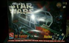 Vintage Ertl AMT Star Wars Tie Fighter Plus Pack Model Kit 8432 NIB