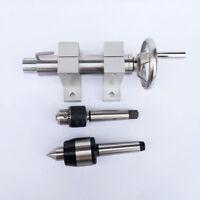 Center height 60mm Mini Lathe Tailstock Morse's taper 3 Thimble Mini Lathe Beads