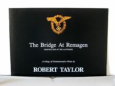 The Bridge At Remagen Robert Taylor  Multi-Page Advertising Brochure
