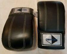 Century Boxing Kickboxing Gloves Punching bag Practice 12oz Black/Blue Mma-Nwot