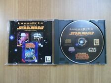 (PC) - STAR WARS: X-Wing CD-ROM Edition + Rebel Assault + Screen Entertainment
