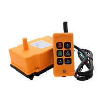 6 Key Crane Industrial Remote Control Wireless Transmitter Push Button Switch