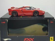 Ferrari 1/43 FXX - 2008 - Rouge et Blanche - Elite Hotwheels N5605