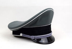 Replica WW2 German Whipcord Military Elite Officer Hat Cap 57 58 59 60