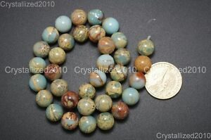 """Natural Colorful Serpentine Gemstone Round Beads 4mm 6mm 8mm 10m 12mm 14mm 15"""""""