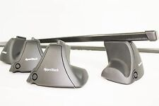 Complete SportRack Latitude by Thule Locking Roof Rack - Honda Civic KIT1557