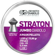 JSB Diabolo Straton Jumbo cal .22 / 5.5mm Airgun Pellets 250psc (546238-250)