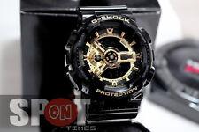 Casio G-Shock Black × Gold Men's Watch GA-110GB-1  GA110GB 1