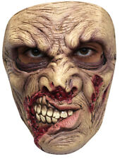 THE UNDERTAKER UNDEAD SCARY LATEX HEAD /& CHEST MASK HALLOWEEN HORROR
