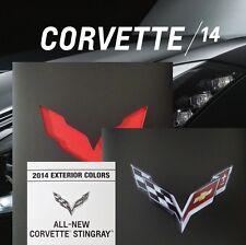 2014 STINGRAY CORVETTE LT1 BOOK + 2013 NAIAS BROCHURE + CHART - C7 CHEVROLET Z51