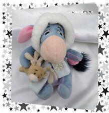 Doudou Peluche Bourriquet Bonnet Echarpe Renne store exclusive Disney