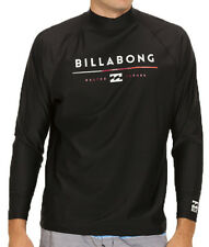 NEW + TAG BILLABONG MENS (L) TRI UNITY WET SHIRT RASH VEST RELAX FIT LONG SLEEVE