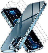 COQUE IPHONE 13 12 11 PRO MAX SE2020 X XR XS 6 7 8 TRANSPARENT + 2 VERRE TREMPE