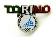 Pin Spilla Olimpiadi Torino 2006 - Loghi Torino Tricolore