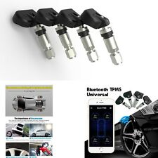 New Bluetooth TPMS Andriod IOS Tire Pressure Monitor System 4 Internal Sensors