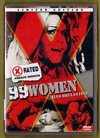 99 WOMEN (Les Brulantes 1969) Ed. Limitata X-rated