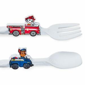 PAW Patrol Utensil Set for Kids – Dinneractive Themed Fork and Spoon