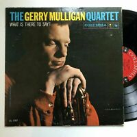 Gerry Mulligan What is There to Say LP Columbia mono DG Art Farmer Dave Bailey