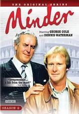 Minder: Season 2 (DVD, 2010, 4-Disc Set) George Cole, British TV Series  New