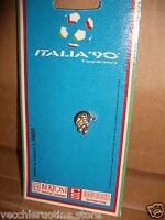 MERCHANDISING ITALIA 90 SPILLA SMALTATA UFFICIALE OFFICIAL enamelled pin brooch