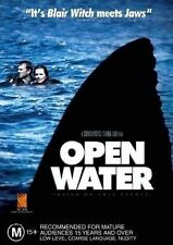 Open Water (DVD, 2005) // stickers on cover