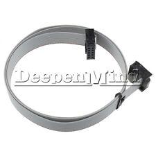 5PCS 70CM 2.54mm 10 Pin USB ASP ISP JTAG AVR wire 10P IDC Flat Ribbon DATA Cable