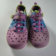 New listing Stride Rite Kids Girls Rubber Tennis Shoes Made 2 Play Water Summer Purple Sz 9