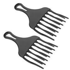2pcs Wide Toothed Afro Hair Pick Lifting Volumizing Hair Combs for Women Men