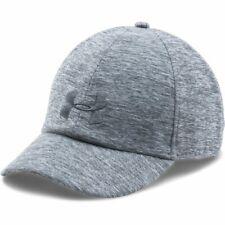 Under Armour Ua 1291072 Womens Heather Renegade Cap Baseball Hat Gray 025
