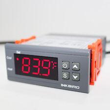 Inkbird Temperature Controller ITC-1000 110V 2 Relays Thermostat Digital Heating