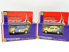 Renault Toys Slot 1/60 - Lot de 2 Renault Maxi Megane