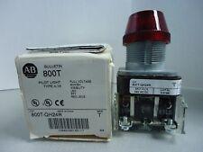 New Allen Bradley Oiltight Pilot Light 800T-QH24R Red LED 24 Volt NIB