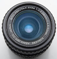 SMC Pentax Zoom 28-50mm 1:3.5-4.5 Asahi 28-50 - Pentax PK