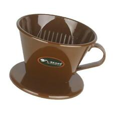 Coffee Filter Clever Coffee Dripper Cone Reusable Brewer Portable -Brown