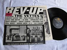 Mint original The Vettes Rev-Up MGM mono surf lp with promo sticker getting rare