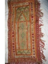 Rare Antique Ottoman Greek Turkish Embroidery Prayer Rug 18Th Century Museum