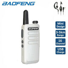 Baofeng Mini BF-R5 UHF Walkie Talkie VOX Two Way Ham Radio + BF-888S Earpiece