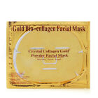 Gold Bio Collagen Moisture Facial Face Eyes Nose Mask Anti-Aging Remove Wrinkle