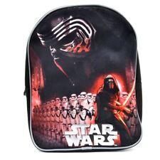 DISNEY sac à dos STAR WARS noir rouge école  L 25 x H 30 x P 10 cm maternelle